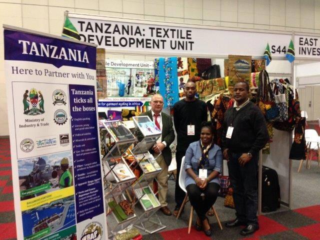"Mkomanile Kraft al ""Source Africa Trade Event"""