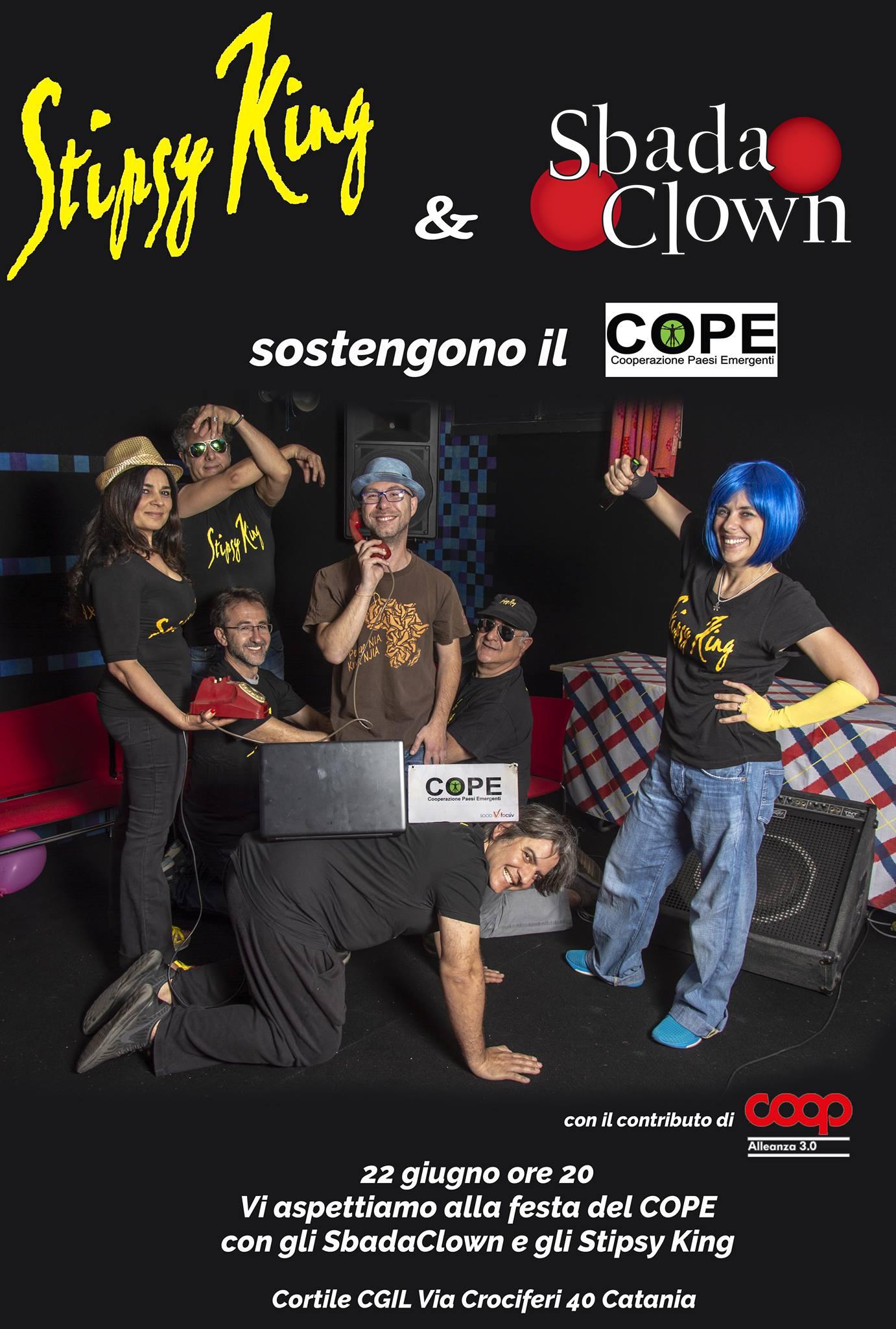 Stipsy King & Sbada Clown sostengono il COPE